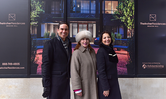Introducing Advisors Living, The Archer Residences' Sales Team